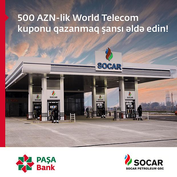 500 AZN-lik World Telecom kuponu qazanmaq şansı əldə edin