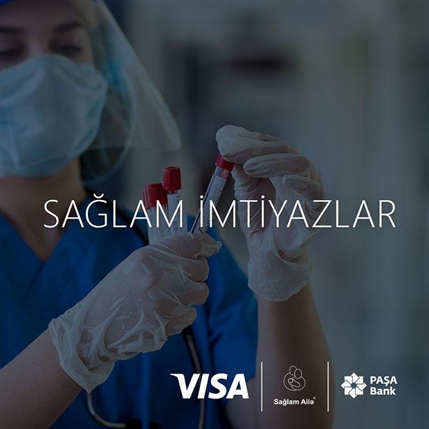 Premium Visa kart sahiblərinə ödənişsiz COVID-19 testi!