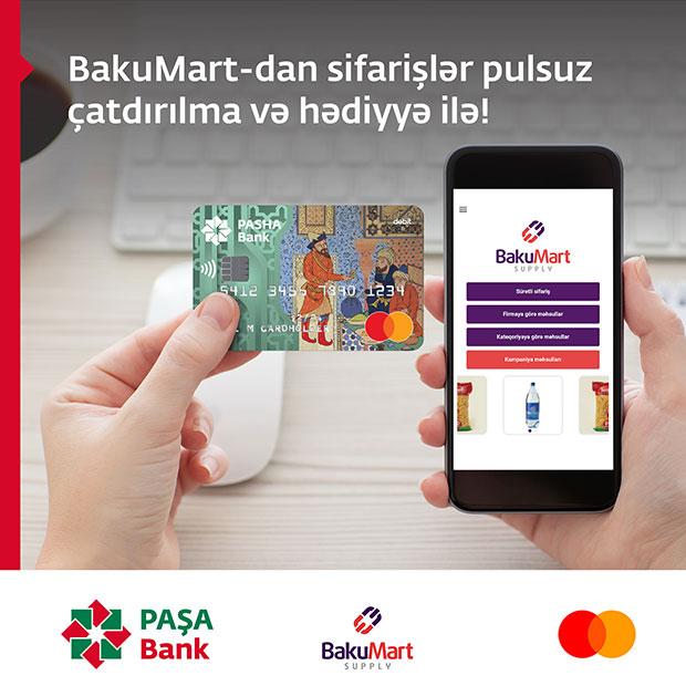 BakuMart-dan MasterCard sahiblərinə hədiyyəli təklif!