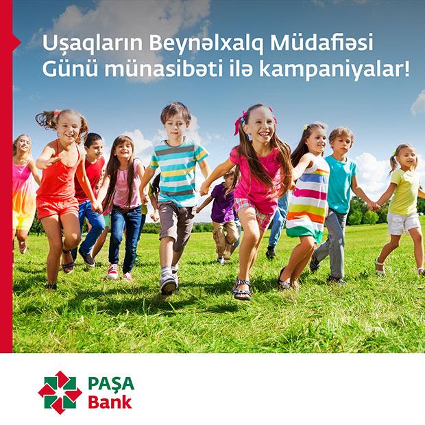 Ümumdünya Uşaqlar Günü münasibətilə PAŞA Bank kart sahibləri üçün xüsusi fürsətlər!