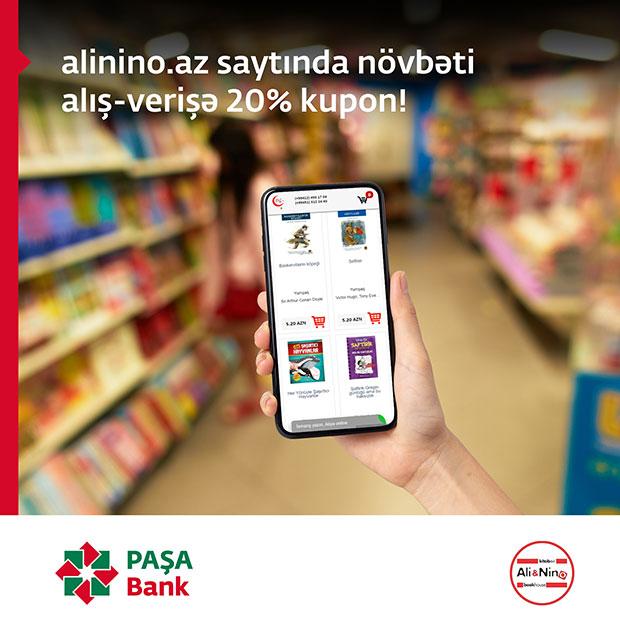 AliNino - Ümumdünya Uşaqlar Günü münasibətilə PAŞA Bank kart sahibləri üçün xüsusi fürsətlər!